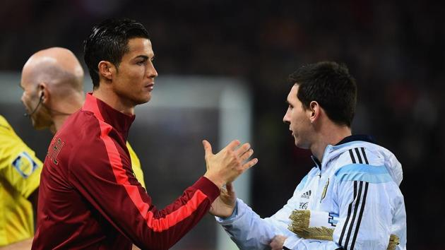 Cristiano Ronaldo and Lionel Messi may not play another FIFA World Cup after Russia 2018.(Getty Images)
