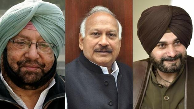 """After media reports of health minister Brahm Mohindra """"attacking"""" him during Thursday's cabinet meeting over a raid at the Patiala mayor's home, local bodies minister Navjot Singh Sidhu said the the sanctity of the cabinet is being damaged."""
