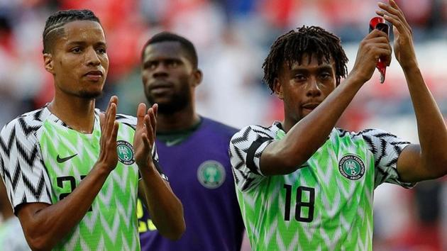 Nigeria announced their final 23-member squad for the upcoming FIFA World Cup 2018.(REUTERS)
