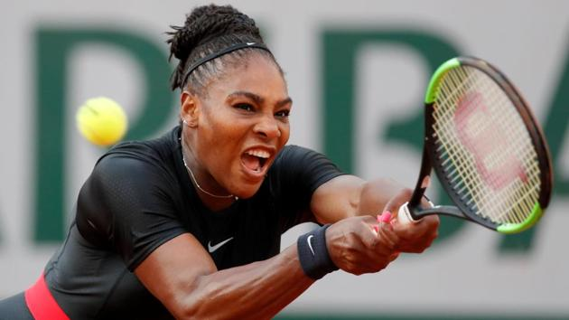 Serena Williams pulled out of her French Open match against Maria Sharapova on Monday.(REUTERS)