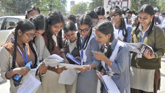 BSEB Bihar Board result 2018: This year, 17,70,042 students filled the forms for matric exam and 12,80,000 students for the intermediate exams. The results have been declared.(File photo)