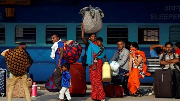 The railways will also ensure that trunks, suitcases and boxes adhere to the prescribed measurements of 100cm x 60cm x 25cm (length, breadth, height) for personal luggage to be carried in the compartments(REUTERS)