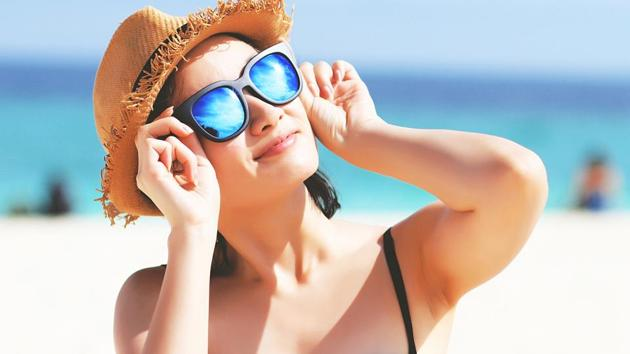 Skin care in summer: The sun's powerful rays can damage your skin. Always apply sunscreen whenever you venture out.(Getty Images/iStockphoto)