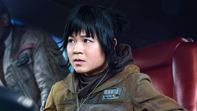 Kelly Marie Tran played Rose in Star Wars: The Last Jedi, the franchise's first female character of colour.