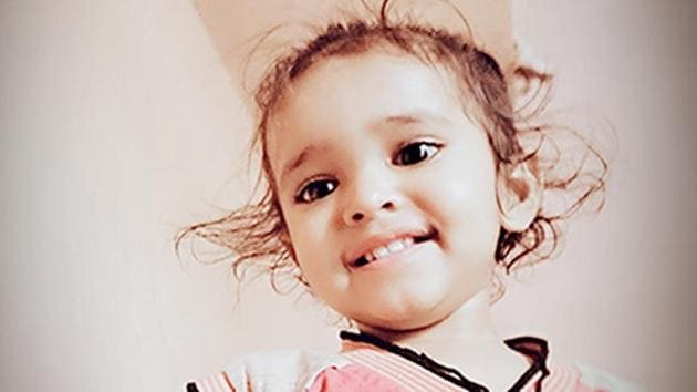 Deepak,an 18-month-old toddler, was playing alone.