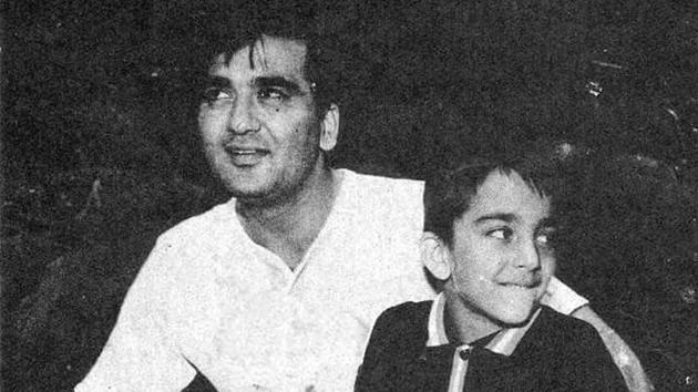 Sunil Dutt had a great impact on Sanjay Dutt's life.(Instagram)