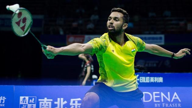 HS Prannoy is currently ranked a career-high world No 8(AFP)