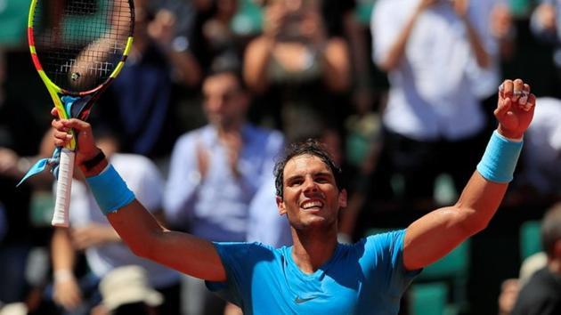 Rafael Nadal will play Juan Martin del Potro in the French Open semifinal.(REUTERS)