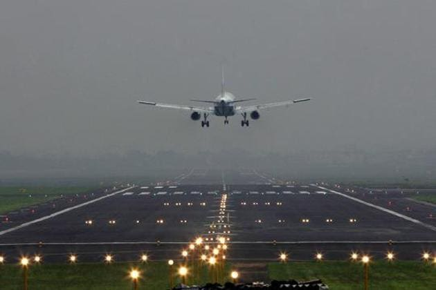 """The airport said in a statement that a man became """"agitated"""" after he and a woman arrived at the gate too late for their flight.(HT Representative Photo)"""
