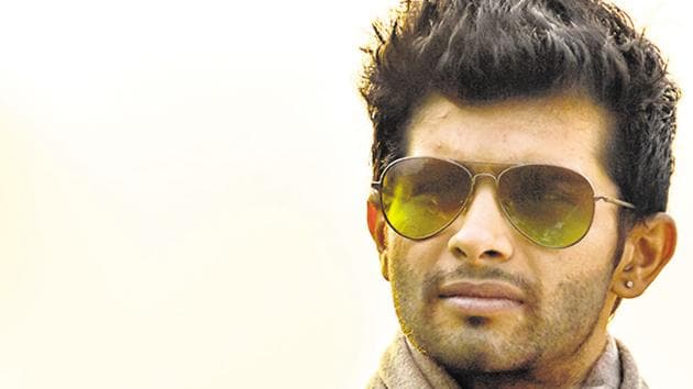 Siddharth Menon's first film was Peddlers which was directed by Vasan Bala in 2011.(HT PHOTO)