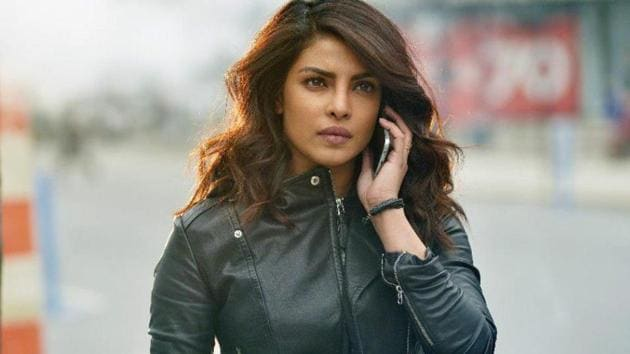 Priyanka Chopra in a still from Quantico.