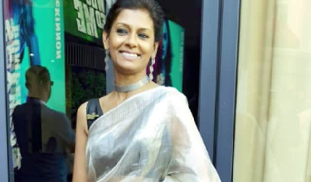 Actor-filmmaker Nandita Das is a regular at Cannes since quite a few years now.(Twitter/nanditadas)