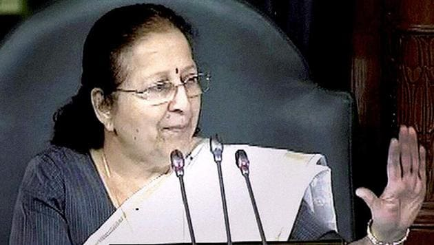 According to the YSR Congress parliamentarians, speaker Sumitra Mahajan asked them to resubmit their resignation letters in confirmation of their decision to relinquish Lok Sabha membership.(PTI File)
