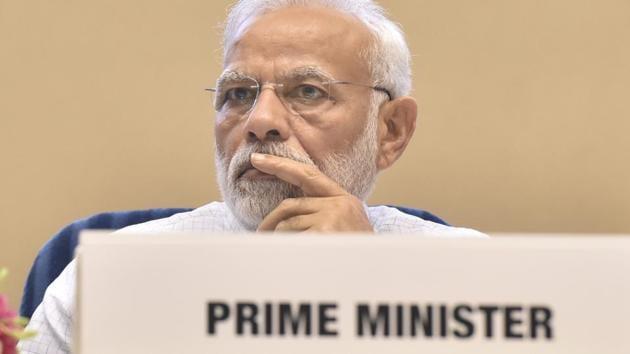 The communication purportedly suggests targeting Prime Minister Narendra Modi's road shows to end 'Modi-led Hindu fascism'.(Sonu Mehta/HT File Photo)