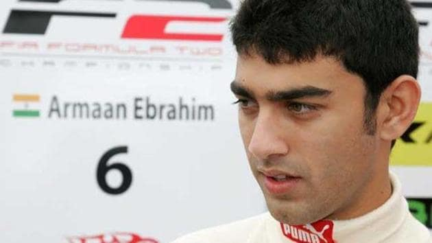 The Xtreme1 Racing League or X1 Racing League, which is being spearheaded by Indian drivers Armaan Ebrahim (in pic) and Aditya Patel, will be held in a mix of track and street circuits.(HT Photo)