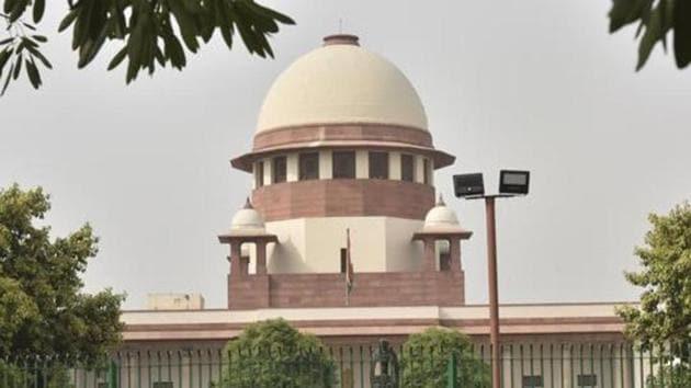 File photo of Supreme Court building in New Delhi.(Sonu Mehta/HT Photo)