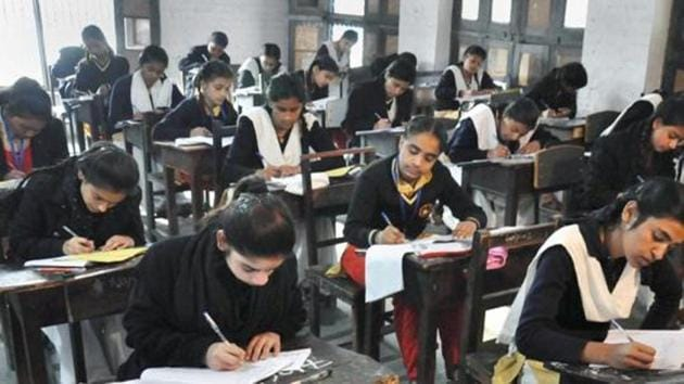 Tripura board class 10th result: Nearly 49,000 candidates took the TBSE 10th examination that began from March 6 to April 10.(PTI file photo)