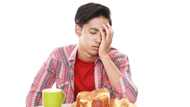 Depressed people may experience fatigue and low energy, body aches, headaches and cramps, irritability, insomnia/excessive sleep and feelings of guilt.(Shutterstock)