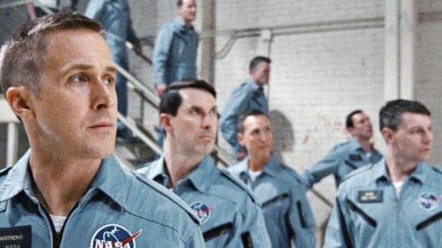 Ryan Gosling stars as Neil Armstrong in Damien Chazelle's First Man.