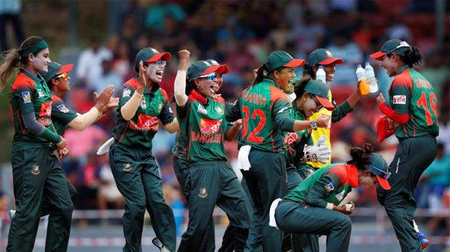 Bangladesh won their maiden women's Asia Cup title by defeating India, who had won the tournament the previous six times.(PTI)
