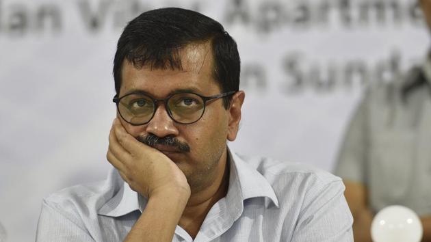 File phot of Delhi chief minister Arvind Kejriwal.(Sanchit Khanna/HT Photo)
