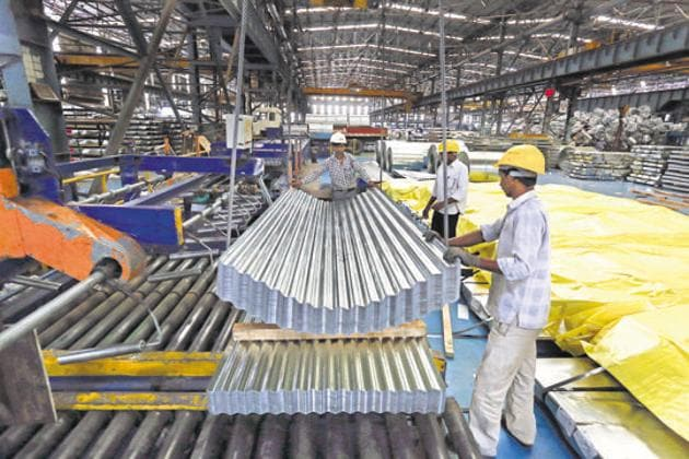 The manufacturing economy seems to have overcome the aftershocks of demonetisation and GST.(Bloomberg/Picture for representation)