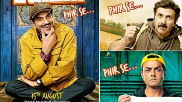 Yamla Pagla Deewana Phir Se is directed by Navanait Singh.
