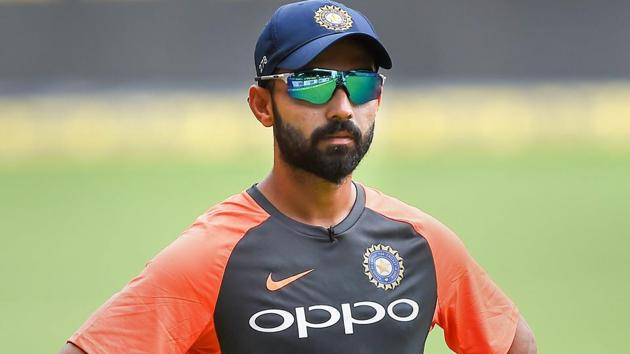 Ajinkya Rahane will lead the Indian cricket team in the one-off Test match against Afghanistan in Bangalore.(PTI)