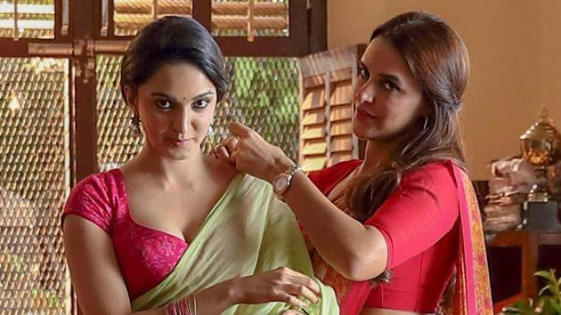 Kiara Advani and Neha Dhupia in a still from Netflix's Lust Stories.(Netflix)