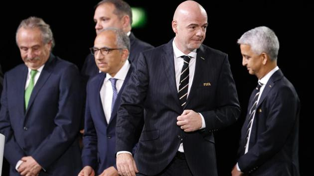 USA, Mexico and Canada will be hosting the FIFA World Cup in 2026. The three-nation joint bid had to beat Morocco for the hosting rights.(AP)