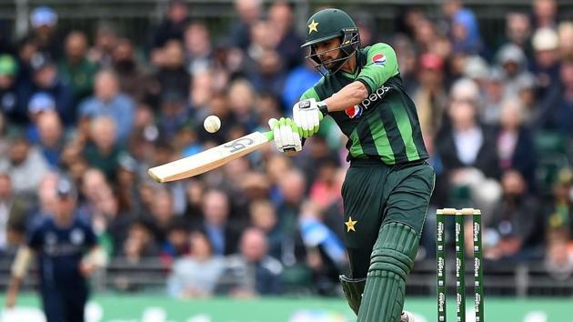 Shoaib Malik hit an unbeaten 49 as Pakistan cruised to an 84-run win over Scotland, sealing a 2-0 T20 series triumph.