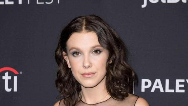 Millie Bobby Brown is best known for playing Eleven on Stranger Things.(AFP)