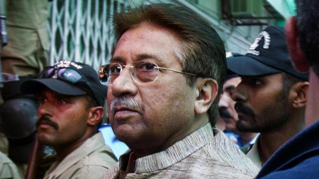 Pakistan's former President Pervez Musharraf has been living in Dubai since March 2016, and is wanted in several cases.(AP File Photo)