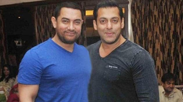 Love you personally and professionally, says Aamir Khan to Salman Khan |  Bollywood - Hindustan Times