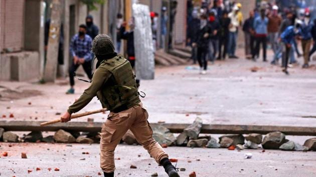 The UN report focuses mainly on alleged serious violations committed in Jammu and Kashmir from July 2016 to April 2018.(Reuters File Photo)