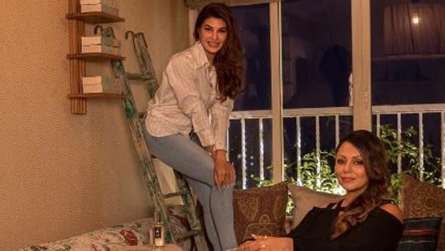Gauri Khan, who has revamped Jacqueline Fernandez's home, has also designed Ranbir Kapoor's home and the nursery of Karan Johar's kids.(Gaurikhan/Instagram)