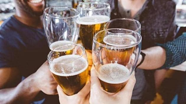 While sale of beer saw a relatively moderate 14.26 per cent jump, wine saw the highest increase, with an increase of 42.96 per cent when compared to figures of April 2017.(SHUTTERSTOCK)