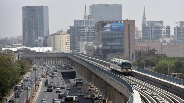 Metro train, high-speed rail fails to tempt Gurugram residents, seen as pre-poll...