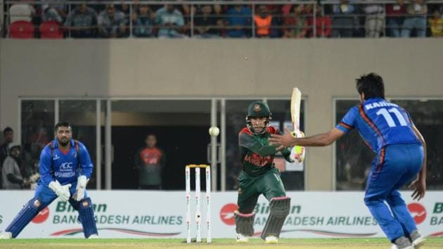 Uttarakhand secured its place on the cricketing map earlier this month when first international T20 series between Afghanistan and Bangladesh was held at the newly built cricket stadium in Dehradun.(HT File)