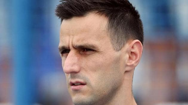 Nikola Kalinic refused to came on for Croatia in their FIFA World Cup 2018 match against Nigeria.(REUTERS)