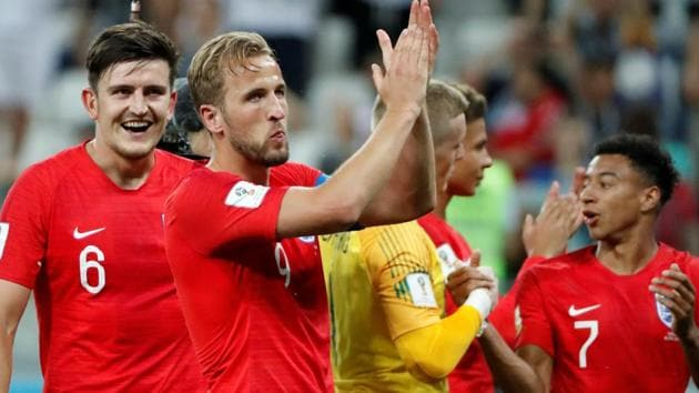 Harry Kane scored a brace as England defeated Tunisia in their opening match of the FIFA World Cup 2018.(REUTERS)