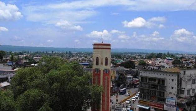 Clock tower of Dehradun .(HT File)