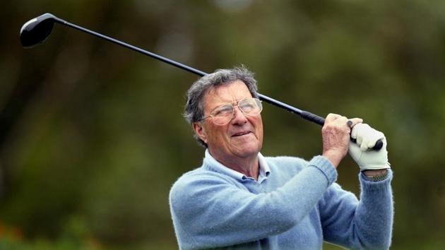 Peter Thomson, the first Australian to win The Open in 1954, died Wednesday.(REUTERS)