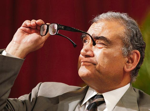 Looking at the judiciary: Former Chief Justice Markandey Katju in a picture dated 30th March, 2013.(Kunal Patil/Hindustan Times)