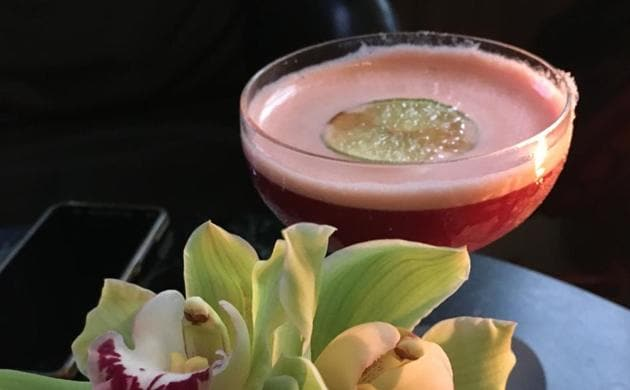 Le Cirque, the star cocktail at the Green Bar Hotel Cafe Royal London