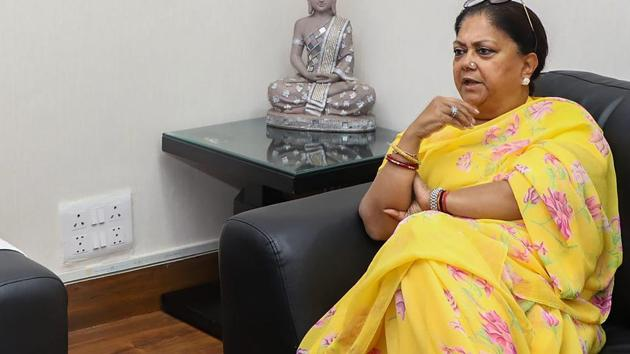 Rajputs and Gujjars, together with the Jats whom Vasundhara Raje has tried to woo in the past four years, make up about one-fifth of the state's population and can upset her bid for a second successive term in office in the desert state.(PTI)