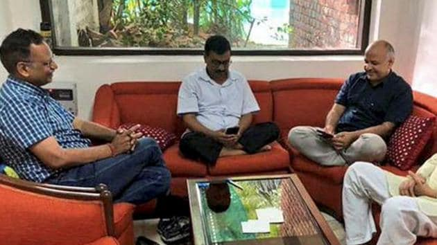 A statement issued without prejudice to the Congress's reservations on Kejriwal's performance and work style, would have done the trick.(PTI File Photo)