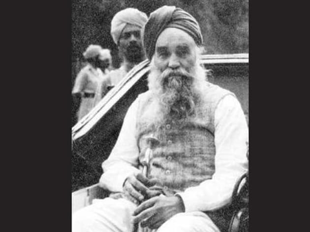 Prominent Sikh political and religious leader Master Tara Singh.(Taken from Wikipedia)