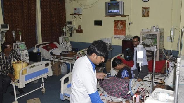 In an emergency meeting in New Delhi on Sunday evening, the Indian Medical Association said the package rates were unacceptable but appreciated the government's decision to empanel the hospitals from 10 beds onwards.(File photo)