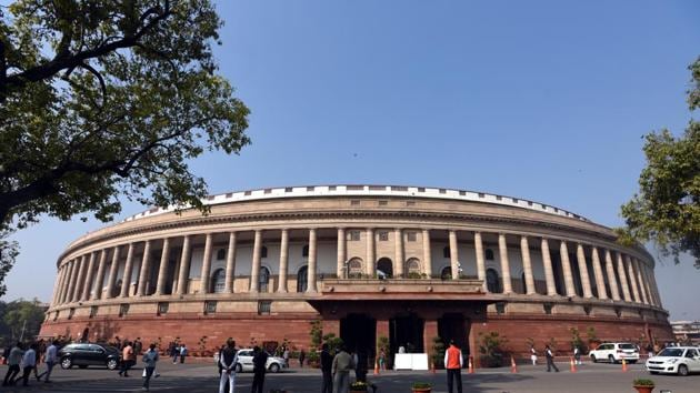 The monsoon session of Parliament that will be held from July 18 to August 10.(HT File Photo)